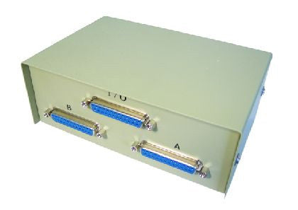 D25 Female 2 Port Serial Switch Box