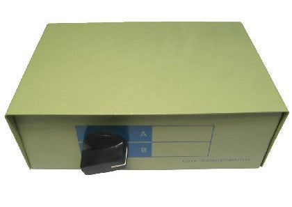 D9 Female 2 Port Serial Switch Box