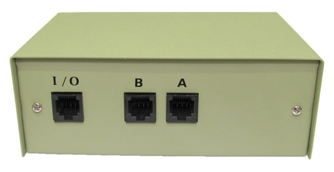 RJ45 Switch Box - 2 Port