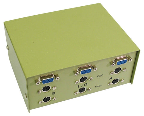 SVGA + PS/2 Switch Box - 2 Port