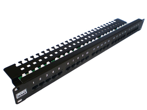 LMS Data - UTP Telephone Panel - 25 Port Krone IDC