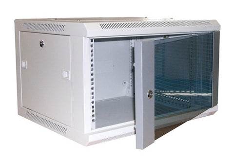 Excel 6U 390mm Deep Wall Data Cabinet