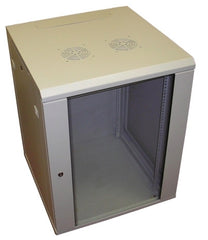 9U 600mm Deep Wall Mounted Data Cabinet - Grey