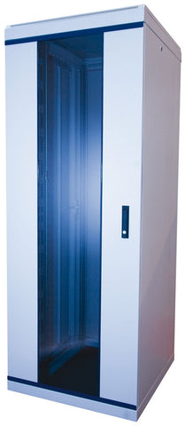 47U 800 x 600 mm Grey Deep Data Cabinet Flat Pack