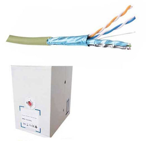 Cat6a S/FTP Shielded 305m LSZH