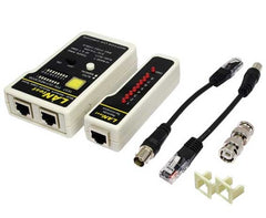 Multi-Funcion Network Cable Tester - RJ45 / RJ11 / BNC