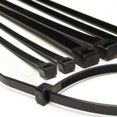 Cable Ties - (100 pcs) Black