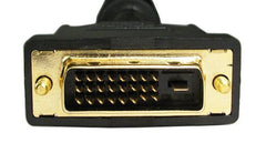 DVI-d Dual Link M - M Gold flashed contacts Ferrites