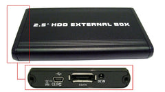 "2.5"" Usb 2.0/E-Sata - Sata Hard Drive Enclosure"