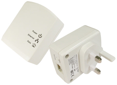 Dual Pack 200 Mbps Homeplug- White