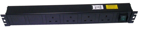4 way horizontal 13A switched PDU