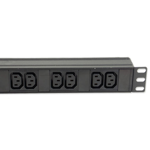 16 way IEC C13 Horizontal or Vertical PDU with UK Plug