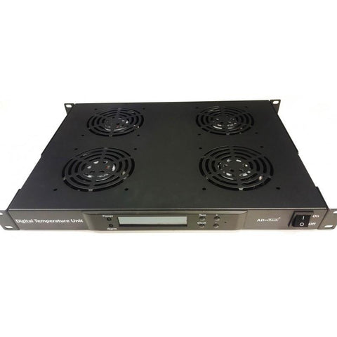 Digital Thermo 4 Way Rack Mount Fan Tray