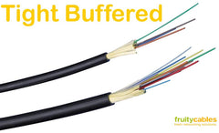 Tight Buffered Fibre Optic Bulk Cable - Fruity Cables