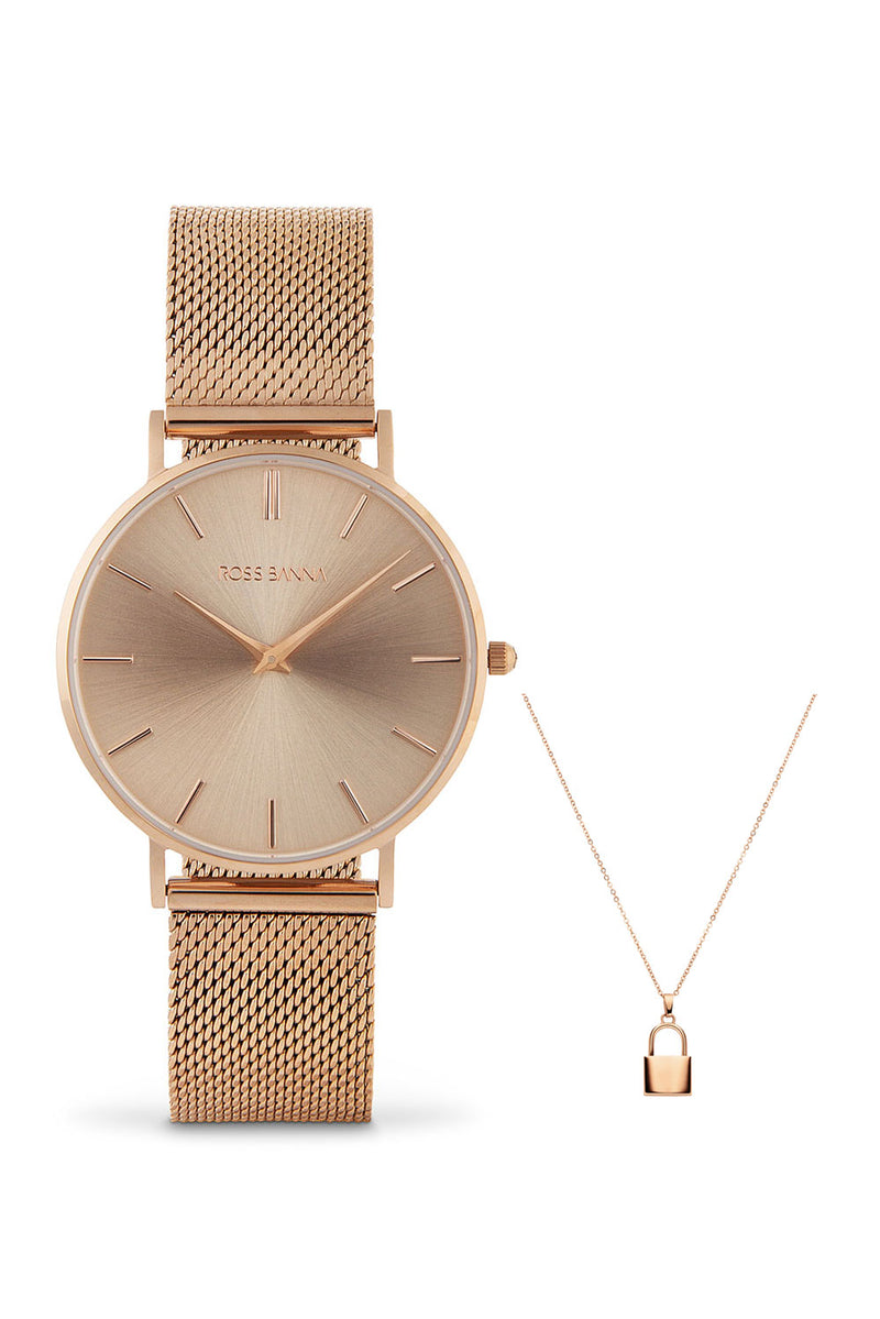 Stucco Rose Gold Set