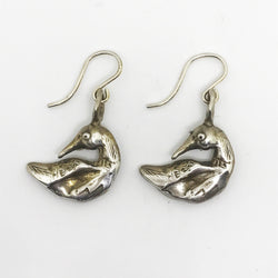 Underwater Vision (Loon) Earrings