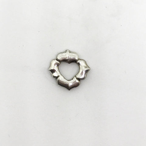 Protection (Lotus/Heart) Charm, Link, Bead