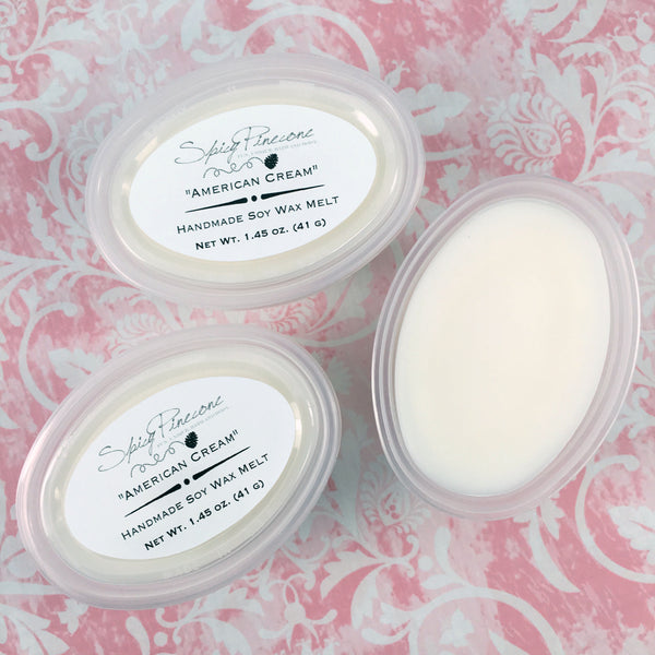 American Cream - Pack of 3 Soy Wax Melts