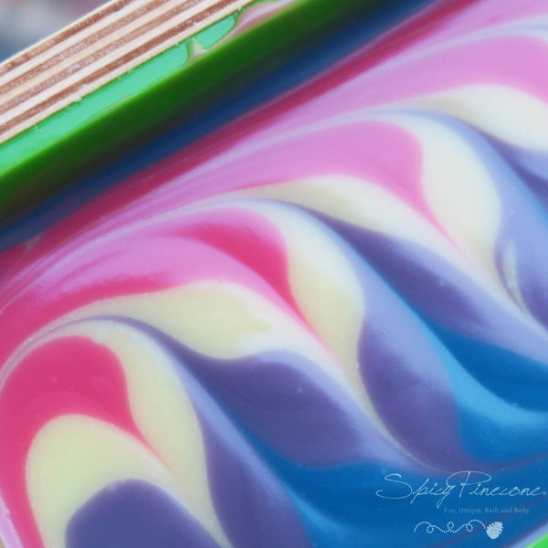 Candy Swirl - Cold Process Soap