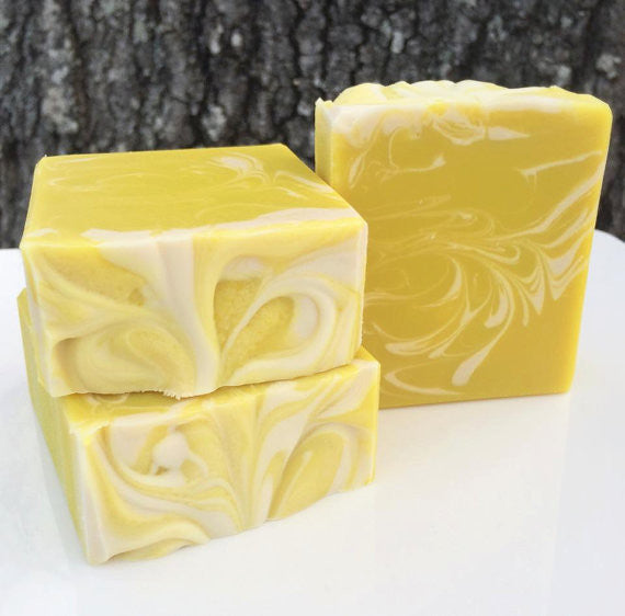 Honey Lemon Drop Soap