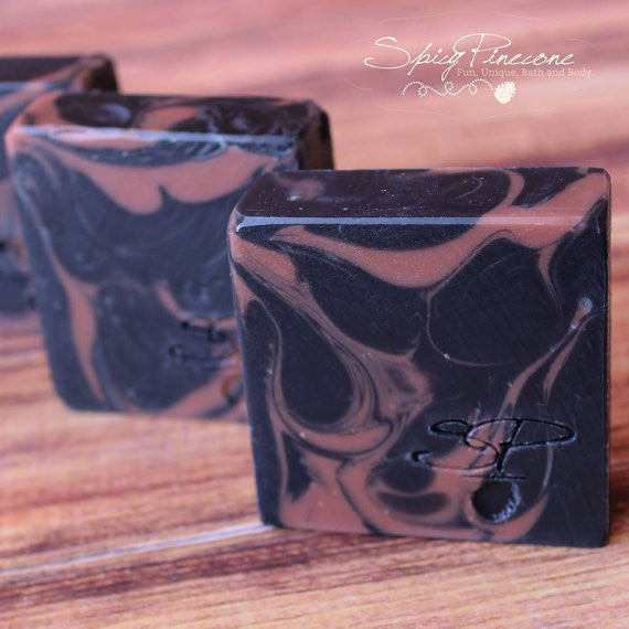 Activated Charcoal and Rose Clay Facial Soap