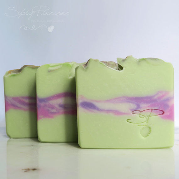 Peppermint and Lavender Soap
