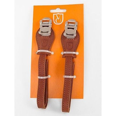 Velo Orange Grand Cru Premium Leather Toe Straps - 3 colours available