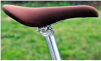Velo Orange Grand Cru 27.2mm Alloy Seat Post ZERO SET BACK Silver