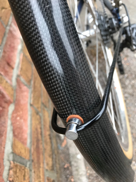 Carbon Fibre Mudguards 700C x 35/40mm and 650B x 45mm/50mm/58mm