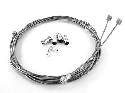 Velo Orange Braided Stainless Steel Brake Cable Kit - Outer and Inner cables