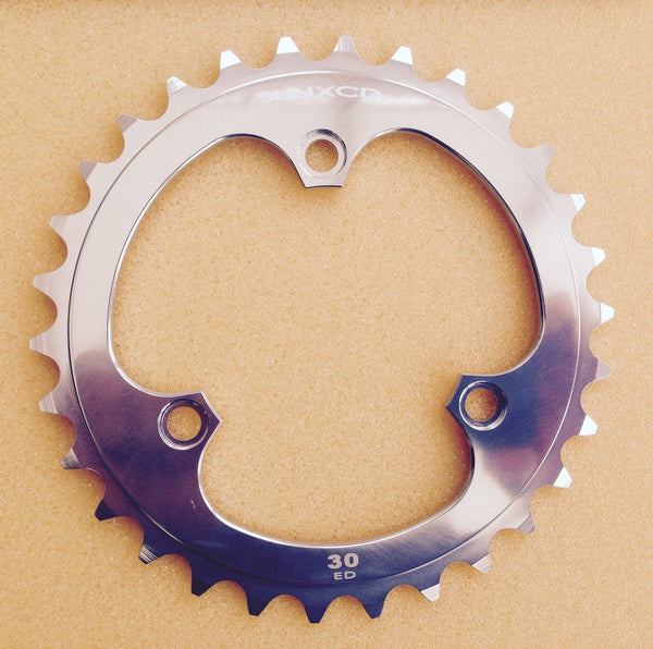 SunXCD Clover Leaf Style Chain rings for 50.4mm BCD cranks - Stronglight 49D, TA Cyclotouriste, Velo Orange, SunXCD
