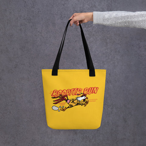 Rooster Run Tote bag