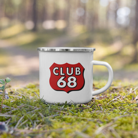 CLUB 68 Enamel Mug