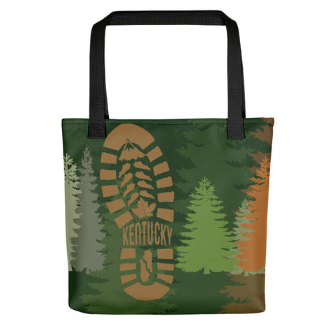 KENTUCKY TRAIL HIKE Tote bag