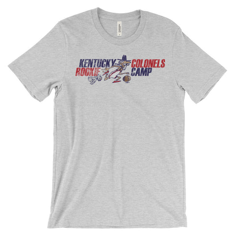 BASKETBALL COLONELS TRAINING CAMP Unisex short sleeve t-shirt