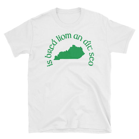 """I love this place"" St. Patrick's/Irish Short-Sleeve Unisex T-Shirt"