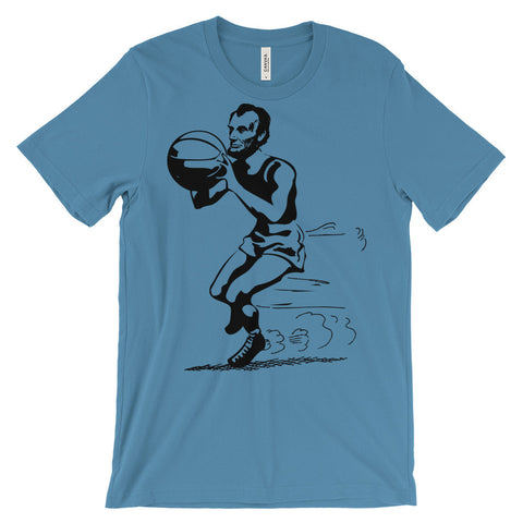 ABE BASKETBALL Unisex short sleeve t-shirt