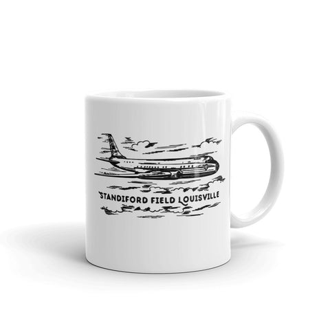 STANDIFORD FIELD AIRPORT LOUISVILLE Mug