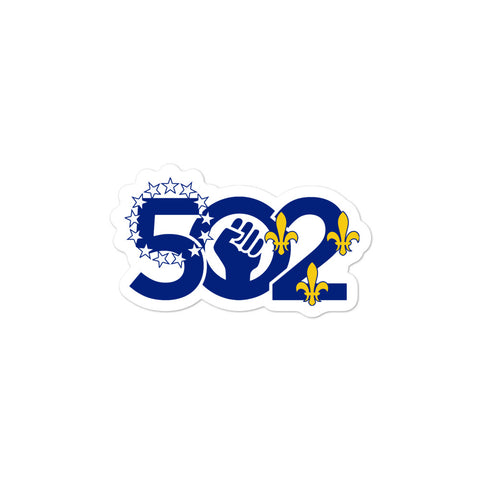 502 Power Louisville Seal Bubble-free stickers