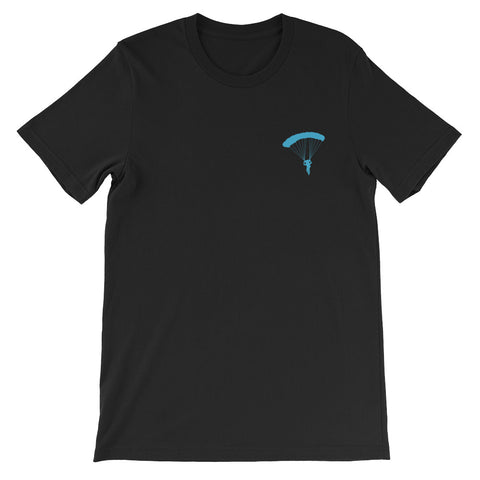 BLUEGRASS CONSPIRACY/ANDREW THORNTON PARACHUTE SCHOOL (2-SIDED) Short-Sleeve Unisex T-Shirt