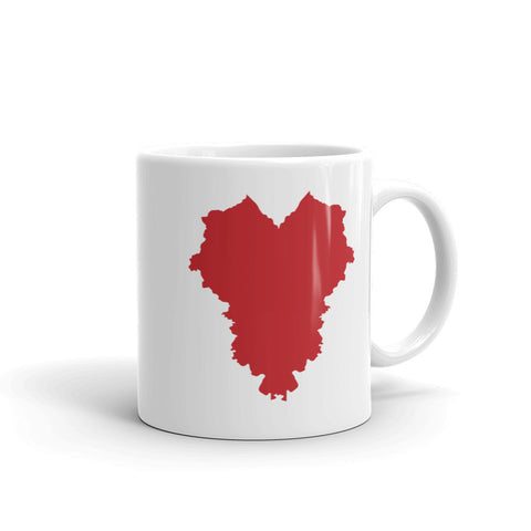 THE HEART OF AMERICA Mug made in the USA