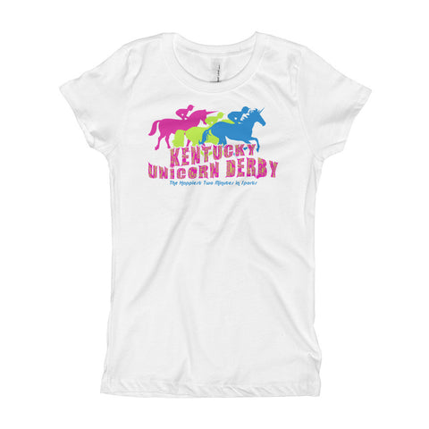 KENTUCKY UNICORN DERBY Girl's T-Shirt