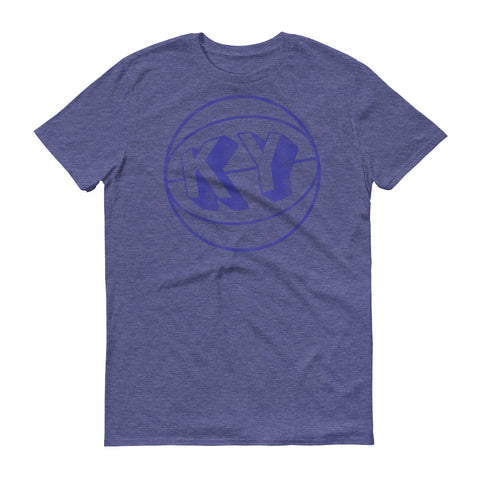 VINTAGE BASKETBALL KY (BLUE) Short-Sleeve T-Shirt