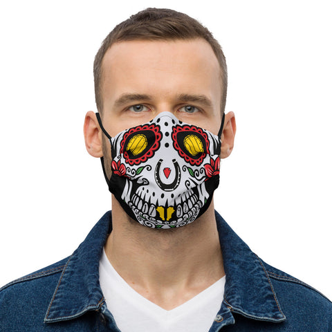 Kentucky Sugarskull Premium face mask