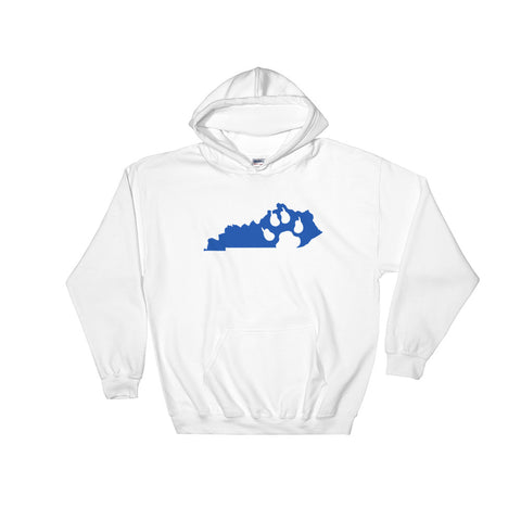 KENTUCKY PAW PRINT Hooded Sweatshirt