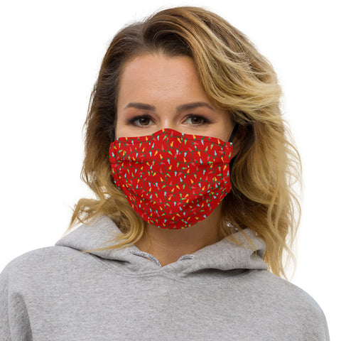 Holiday Kentucky Lights Premium face mask