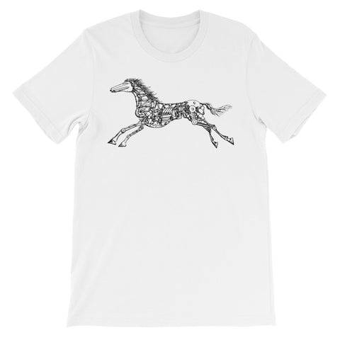 HORSE POWER Unisex short sleeve t-shirt