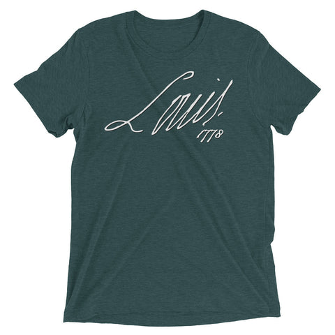 LOUIS THE XVI SIGNATURE Short sleeve t-shirt