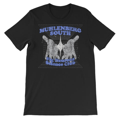 MUHLENBERG SOUTH SCIENCE CLUB Unisex short sleeve t-shirt