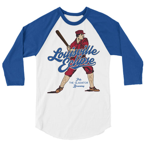 LOUISVILLE ECLIPSE BASEBALL 3/4 sleeve raglan shirt